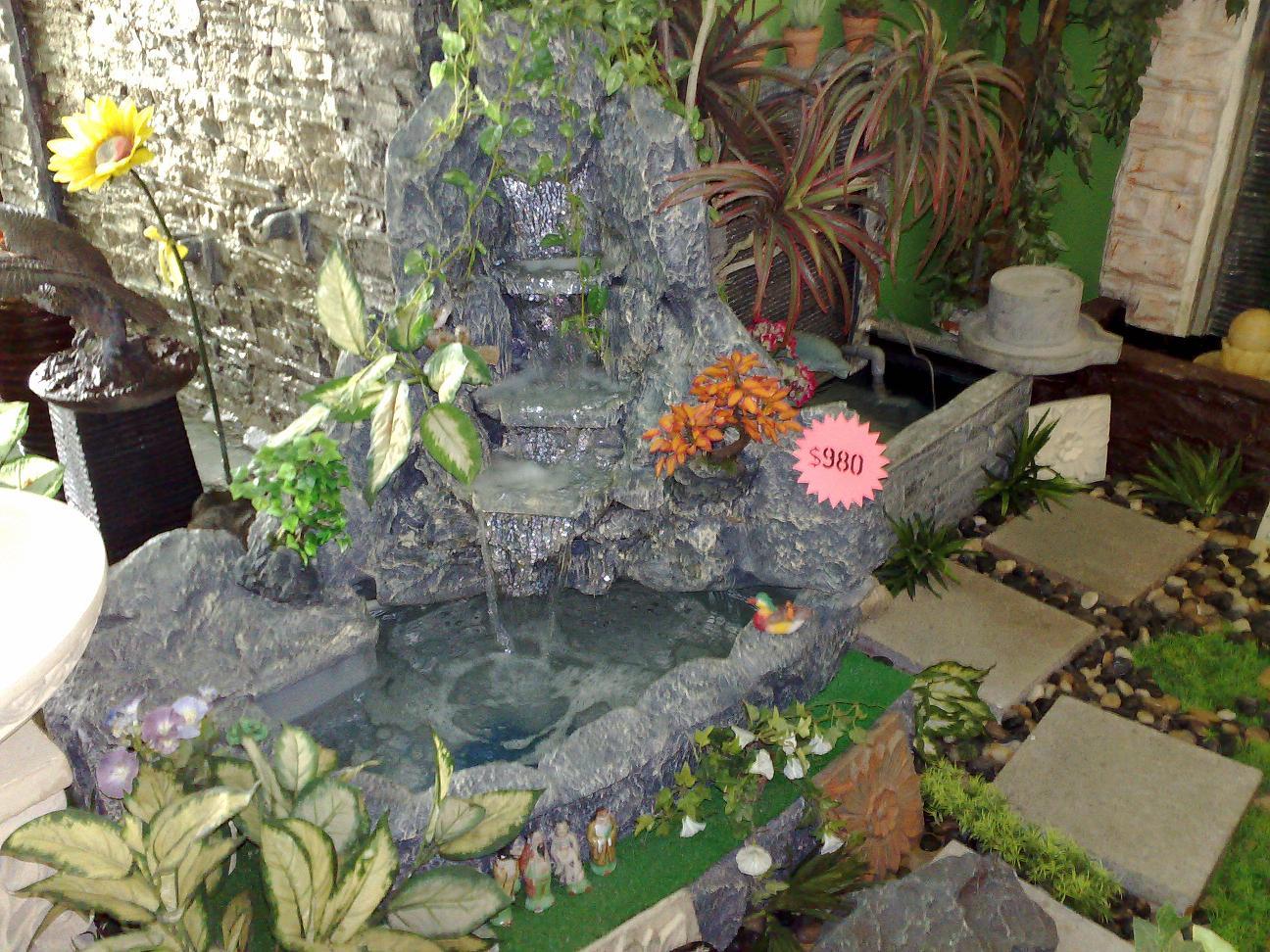 Skyland gardening for Corner fish pond