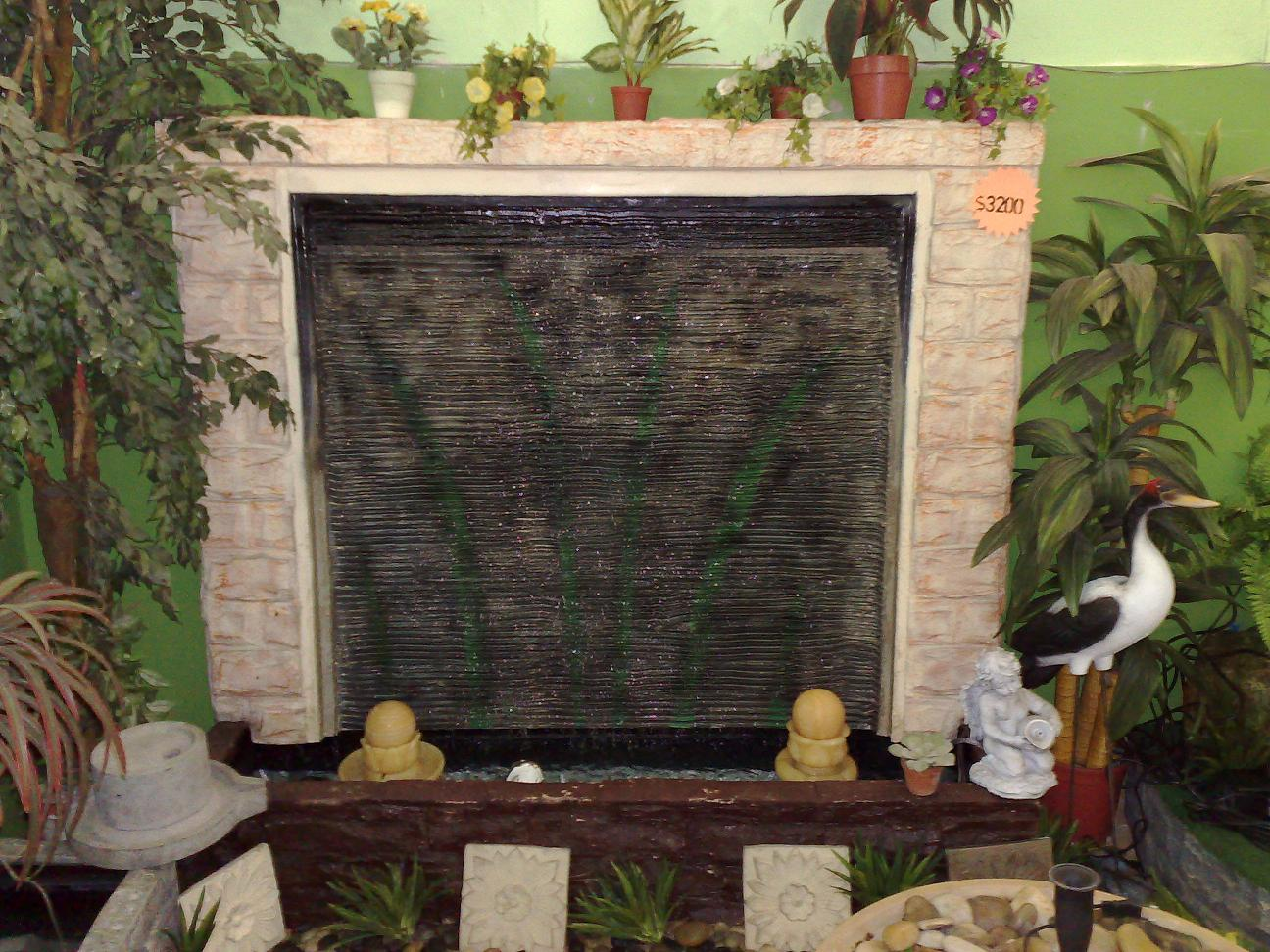 Skyland gardening water feature for How to build a water feature wall