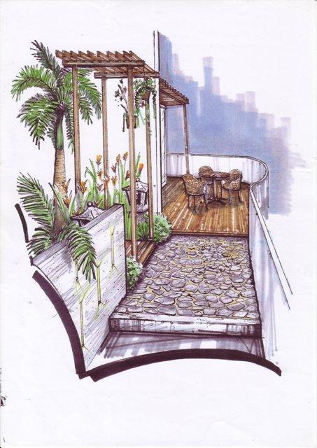 Landscape-Design-Wooden-Trellis-Desking