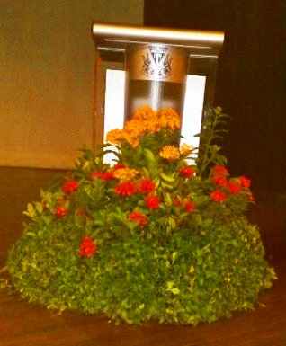 Event Plant Display - Rostrum Display