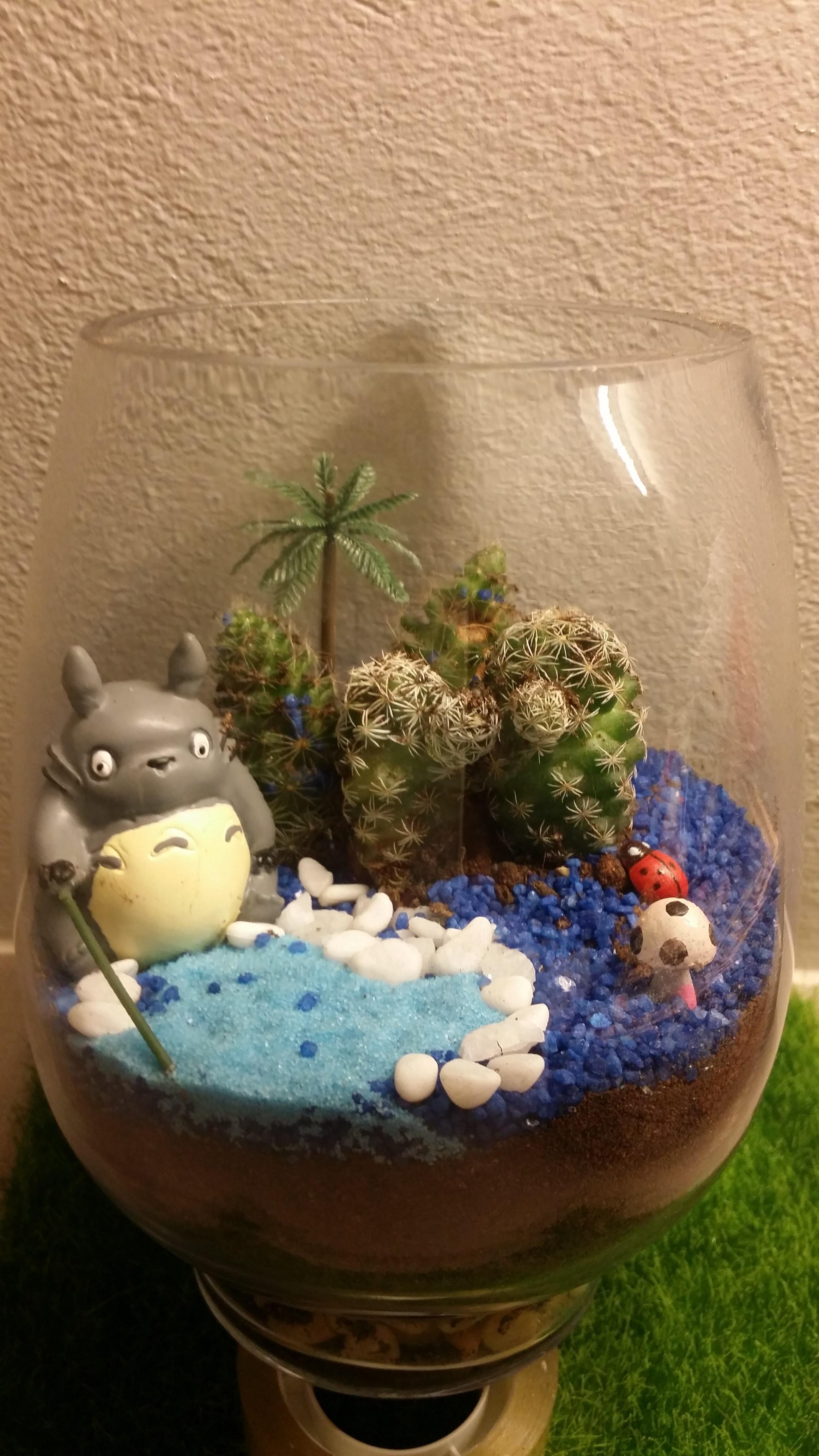 Totoro-Terrarium